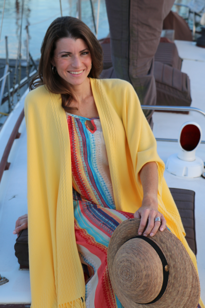 Signature Line-Sun Yellow women's wrap