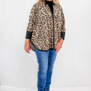 Leopard Capelet